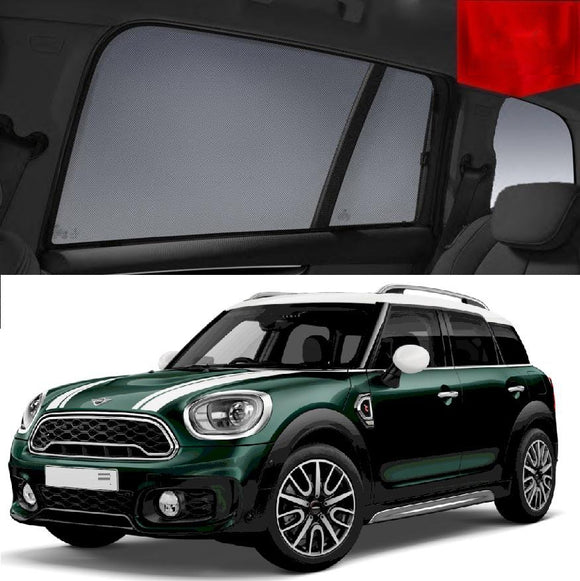 MINI Countryman 2017-2020 F60 Car Shades | Snap On Magnetic Sun Shades Window Blind