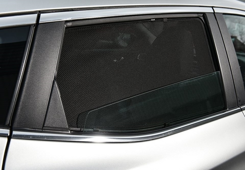 For INFINITI Q50 2013-2019 Rear Side Car Window Sun Blind Sun Shade For baby Mesh