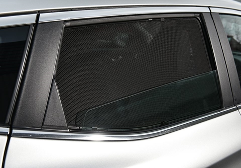 Car Sun Shades For AUDI Q7 4L 2005 2006 2007 2008 2009 2010 2010 Magnetic Window Shade