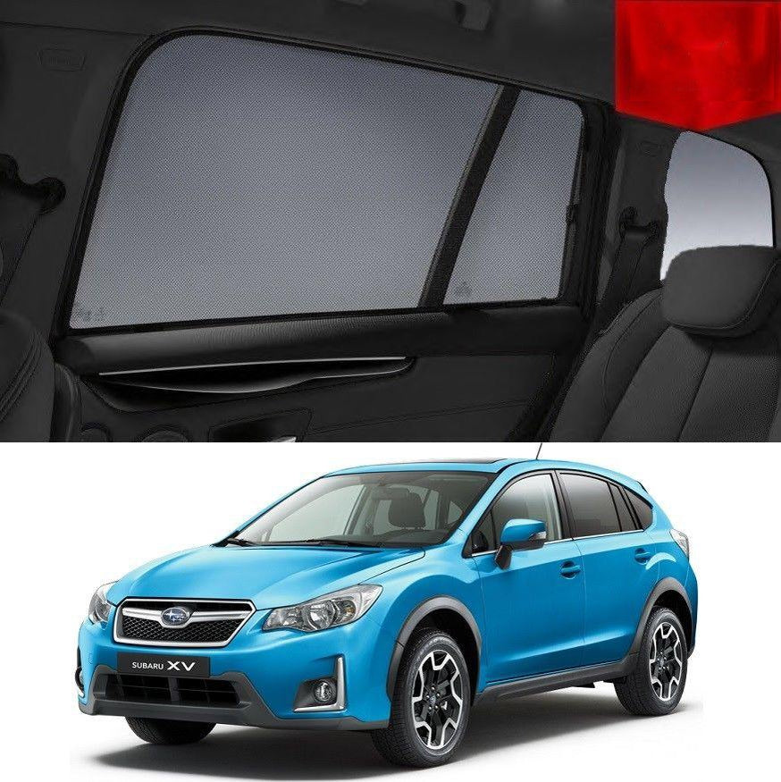 For SUBARU XV 2011-2017 Magnetic Rear Side Car Window Sun Blind Sun Shade Mesh