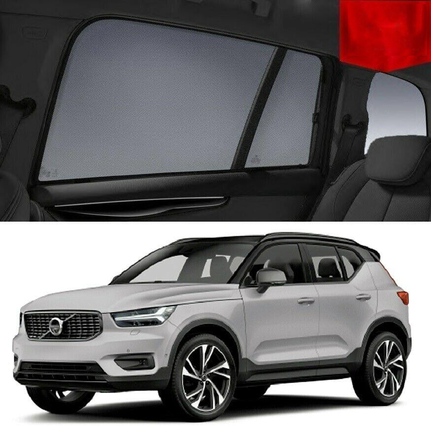 For VOLVO 2017-2020 XC40 Rear Side Car Window Sun Blind Sun Shade For baby Mesh