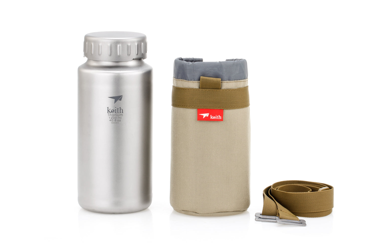 Keith Titanium Sport Bottle Ti3036