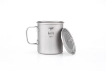 Load image into Gallery viewer, Keith Titanium Mug with Cover and Folding Handle Ti3204