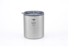 Load image into Gallery viewer, Keith Double-wall Titanium Mug with Lid Ti3306