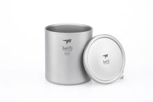 Load image into Gallery viewer, Keith Double-Wall Titanium Mug with Lid Ti3307