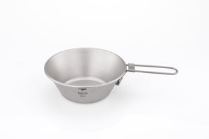 Keith Titanium Bowl with Folding Handle Ti5320
