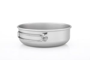 Keith Titanium Bowl with Folding Handle Ti5326