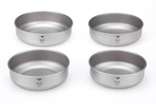Load image into Gallery viewer, Keith Set of 4 Titanium Bowls Ti5376