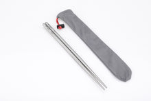 Load image into Gallery viewer, Keith Solid Square Titanium Chopsticks Ti5633