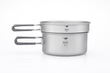Load image into Gallery viewer, Keith 2-Piece Titanium Pot and Pan Cook Set Ti6016