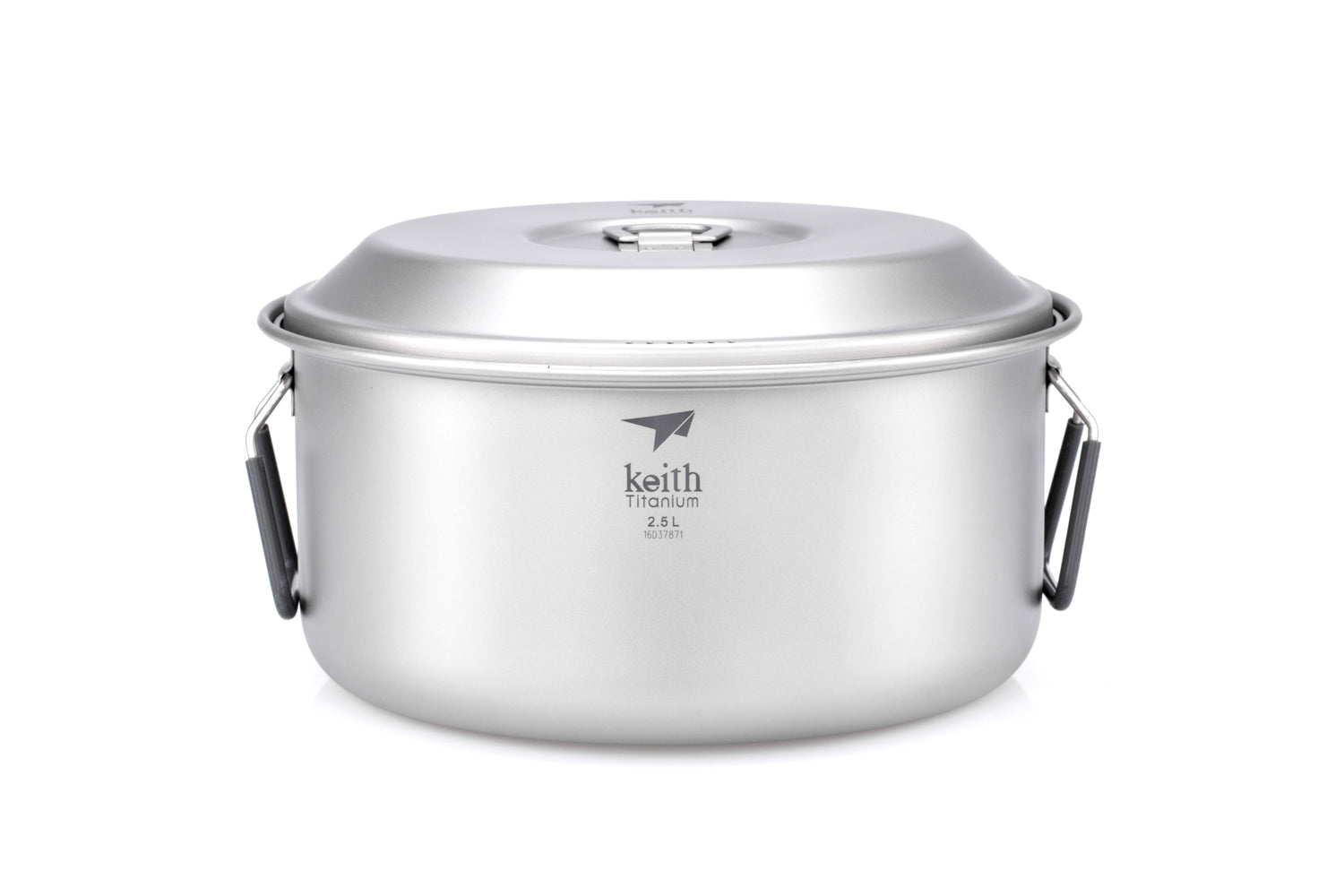 Keith 2-Piece Titanium Pot and Pan Cook Set Ti6018