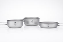 Load image into Gallery viewer, Keith 3-Piece Titanium Pot and Pan Cook Set Ti6053