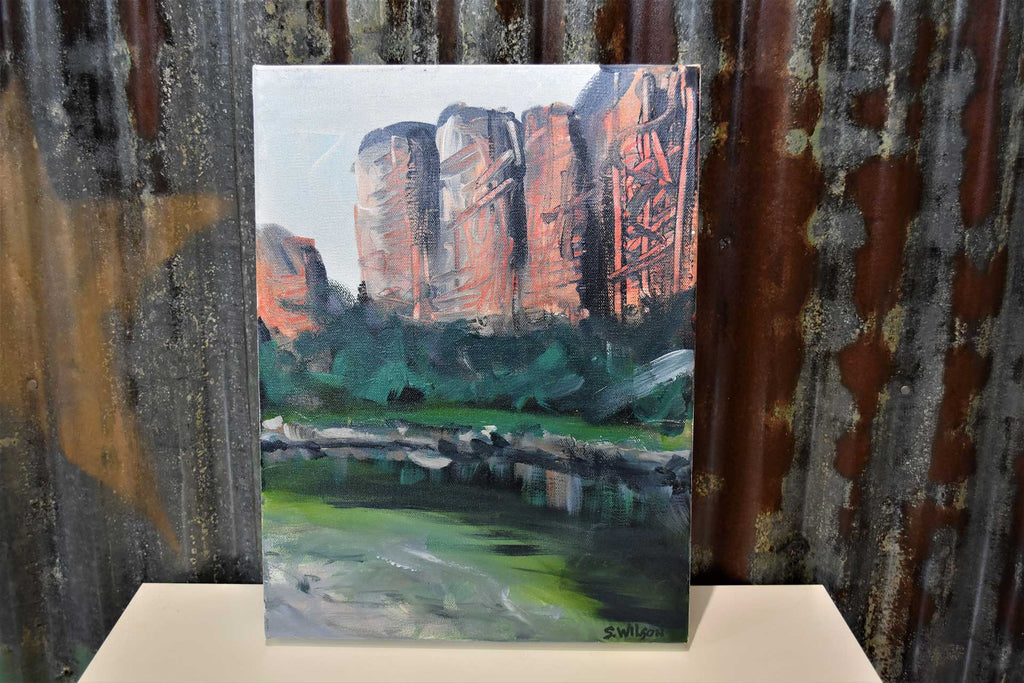 Jim Jim Falls Kakadu NT - Original acrylic painting on stretched canvas