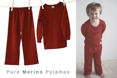 PYJAMAS (STD Weight Merino)