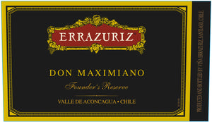 Errazuriz Don Maximiano Promotion