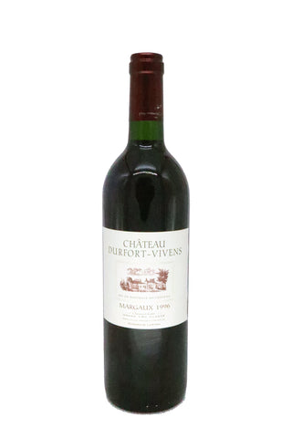 Chateau Durfort-Vivens 1996 (17.5Pts)-Red Wine-MYLuxWine