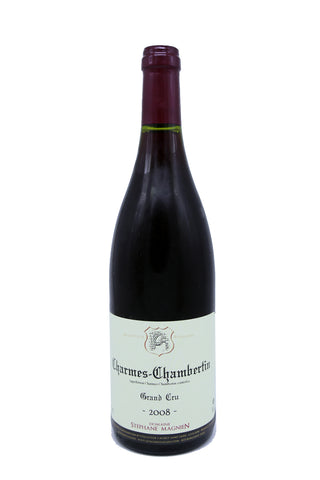 Domaine Stephane Magnien Charmes-Chambertin Grand Cru 2008 (16.5 Pts)-Red Wine-MYLuxWine