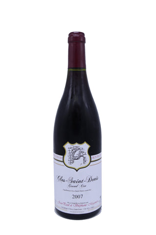 Domaine Stephane Magnien Clos Saint Denis Grand Cru 2007 (17 Pts)-Red Wine-MYLuxWine