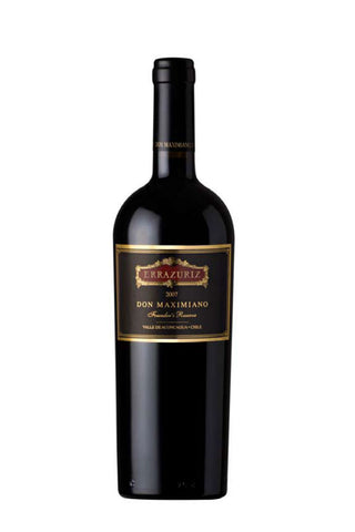 Errazuriz Don Maximiano Founder's Reserve 2007 (94Pts) - *Ex-Chateau*-Red Wine-MYLuxWine