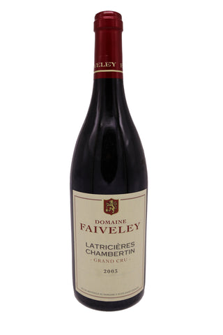 Domaine Faiveley Latricieres-Chambertin Grand Cru 2003 (92Pts)-Red Wine-MYLuxWine