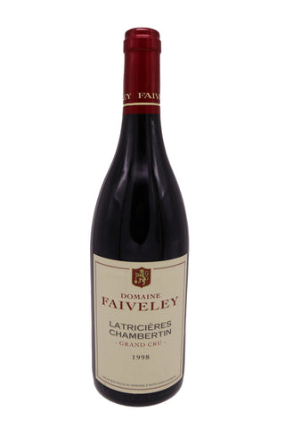 Domaine Faiveley Latricieres-Chambertin Grand Cru 1998 (92Pts)-Red Wine-MYLuxWine
