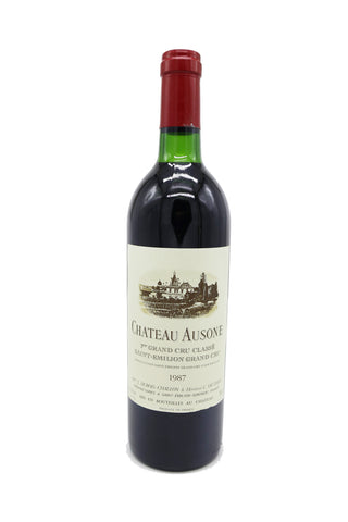 Chateau Ausone 1987 - Very Good Condition-Red Wine-MYLuxWine