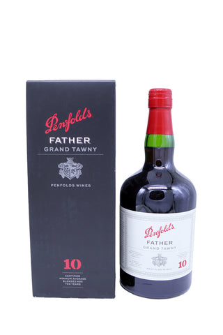 Penfolds Father 10 Year Old Grand Tawny Port NV (17Pts)-Port Wine-MYLuxWine