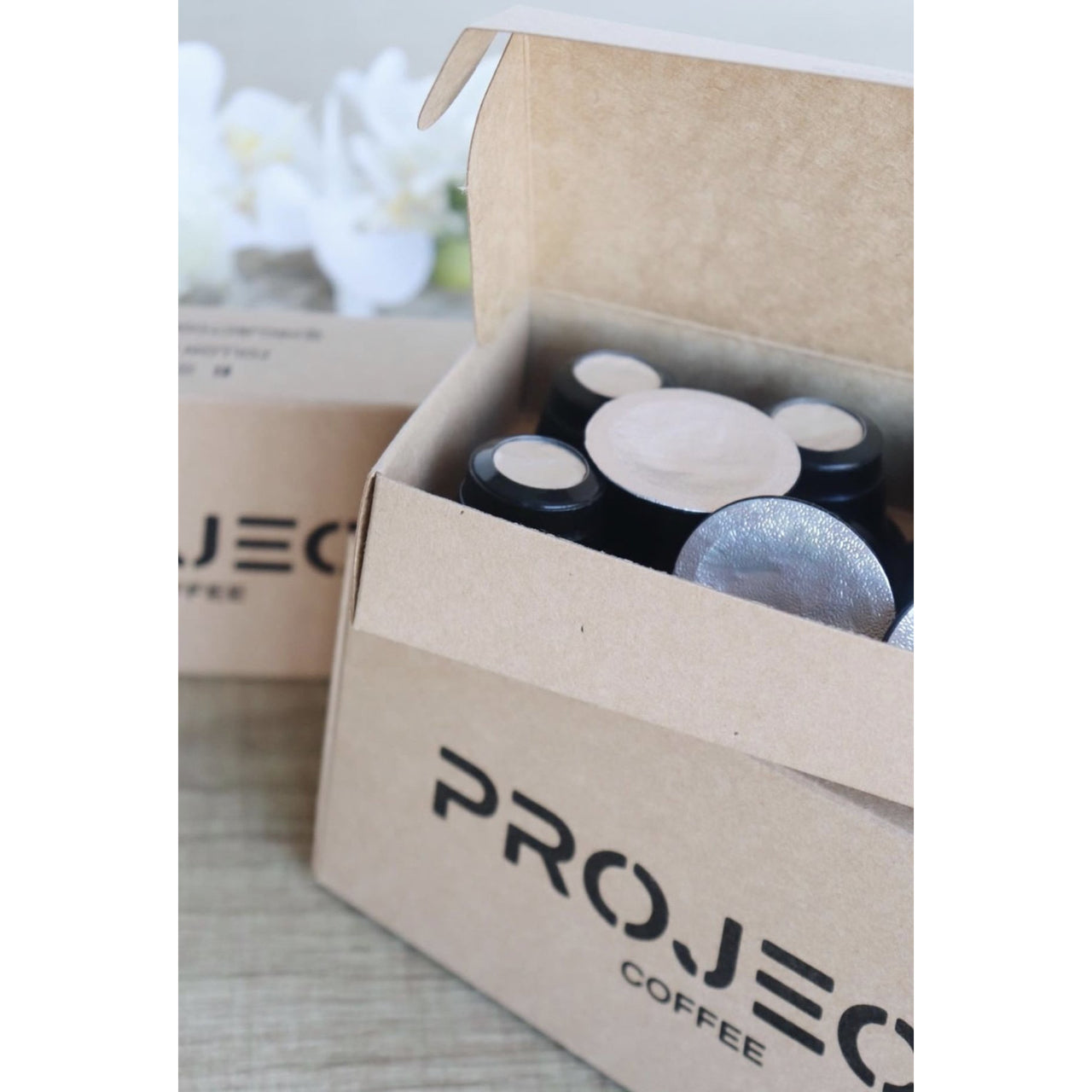 Project Coffee Pods - Silver Fox