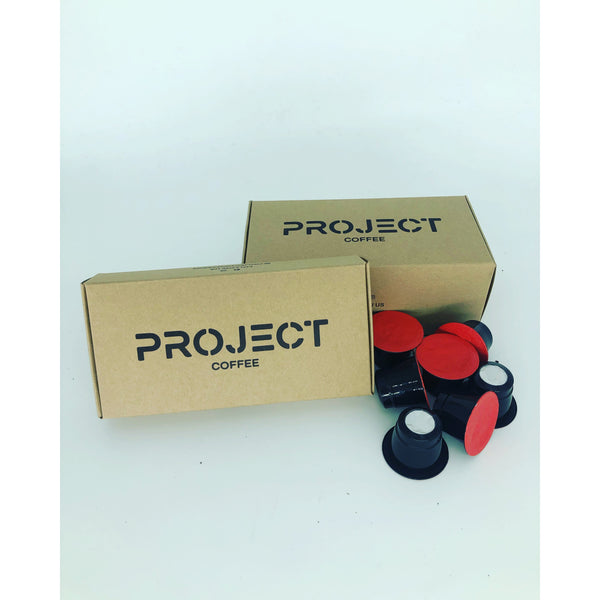 Project Coffee Pods - Cherry Red