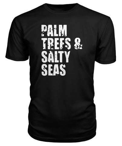 Palm Trees And Salty Seas Premium Tee