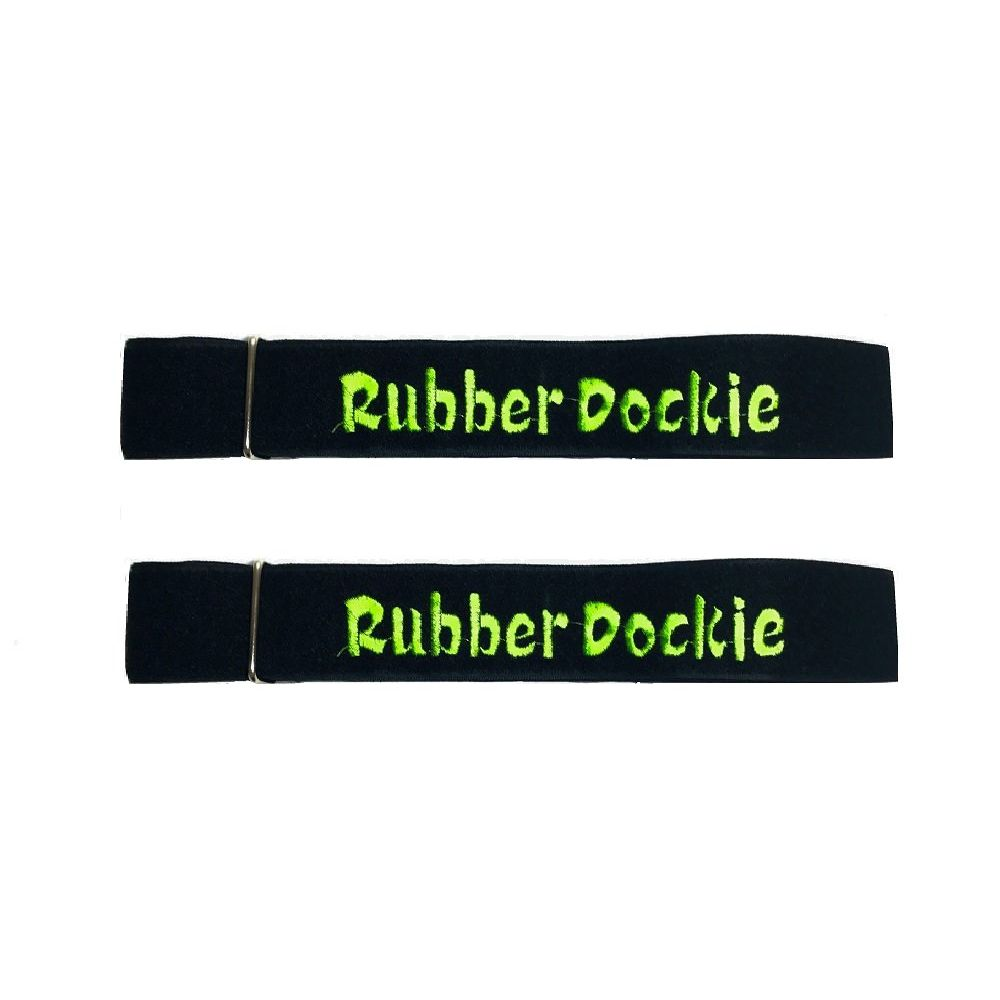 Rubber Dockie Storage Straps with Metal Buckles