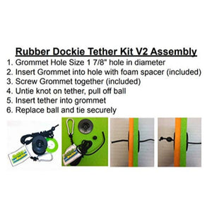 Rubber Dockie Tether Kit