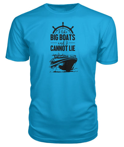 I Like Big Boats Premium Tee