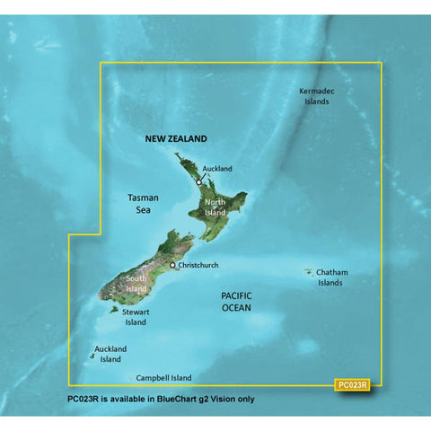 Garmin BlueChart® g2 Vision® HD - VPC023R - New Zealand - microSD™-SD™