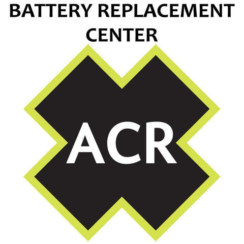 ACR FBRS 2882 Battery Replacement Service - PLB-350 AquaLink™
