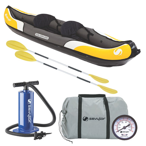 Sevylor Colorado™ Inflatable Kayak Combo - 2-Person