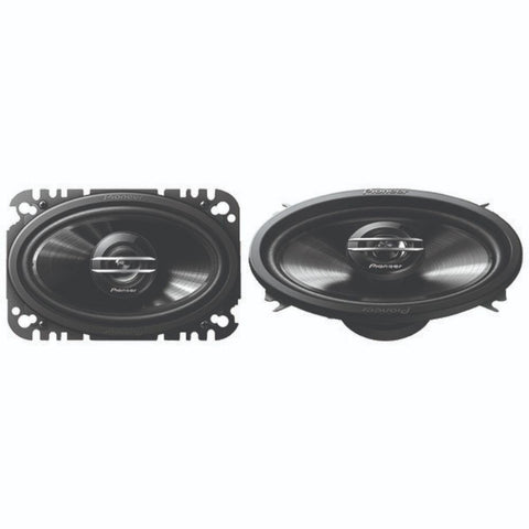 "Hulderic G-Series 4"" x 6"" 200-Watt 2-Way Coaxial Speakers"