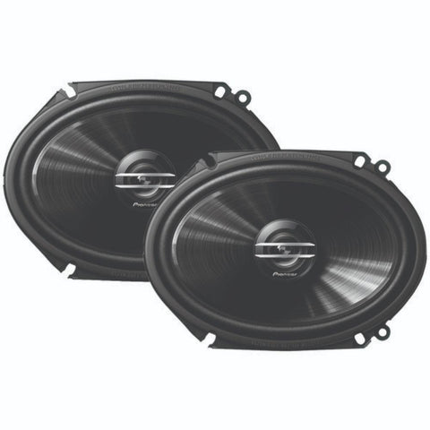 "Gabe G-Series 6"" x 8"" 250-Watt 2-Way Coaxial Speakers"