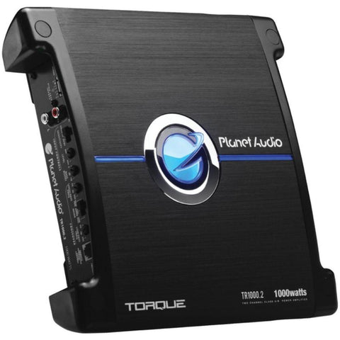 Isidora Torque Series 1,000-Watt. 2-Channel Full-Range Class AB Amp