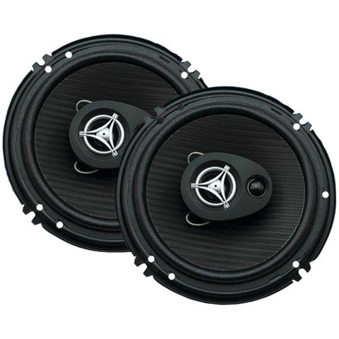 "Kay Edge Series Coaxial Speakers (6.5"", 3 Way, 400 Watts max)"