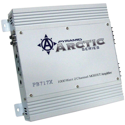 Ulla Arctic Series 2-Channel Bridgeable Class AB Amp (1,000 Watts)
