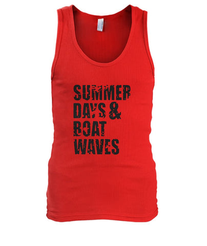 Summer Days And Boat Waves Tank