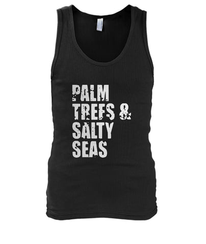 Palm Trees And Salty Seas Tank