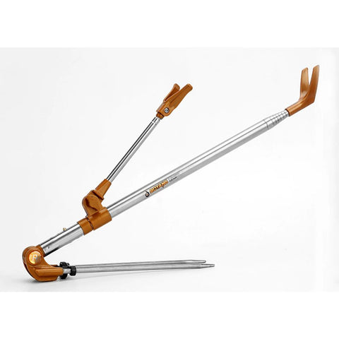 Folding Stainless Steel Fishing Rod Holder