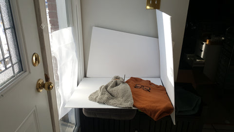 Photography set-up