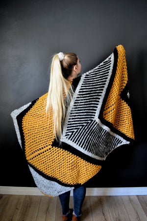 Knit Pattern: S.I.C. Blanket Wrap