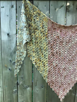 Crochet Pattern: Destress Shawl