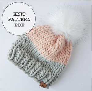 Knit Pattern: WOCxWAK Basic Beanie