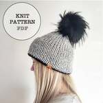 Knit Pattern: Tullamore Double Brim Beanie