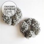 Crochet Pattern: Top Knot Scrunchie